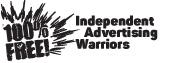hundredpercentfree – Werbung Logo